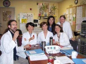 li with students